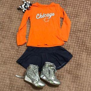 Other - Chicago Bears little girls long sleeve T-shirt
